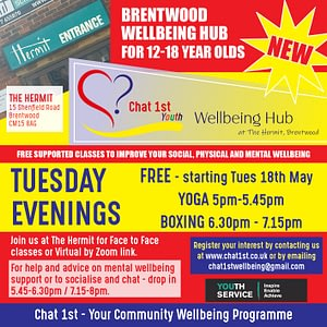 Youth Wellbeing Hub at The Hermit